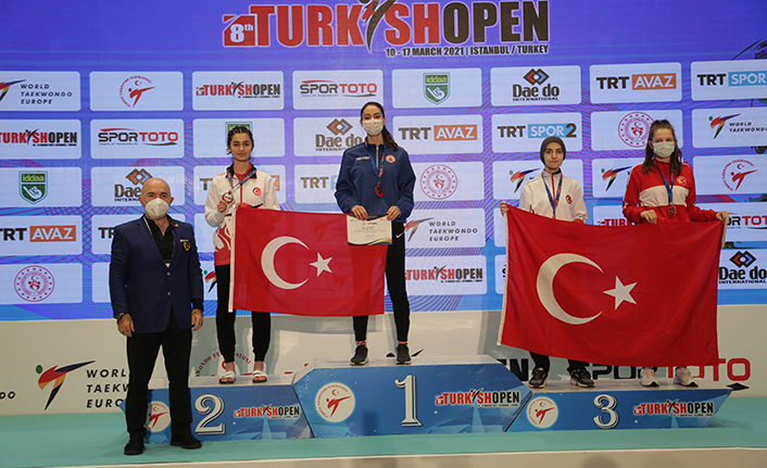 Turkish Open'da genç millilerden 23 madalya